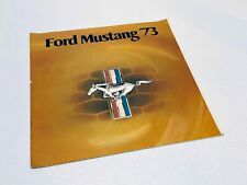 1973 Ford Mustang Brochure