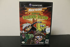 Nicktoons: Battle for Volcano Island  (Nintendo GameCube, 2006) *Tested/Complete