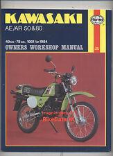 Haynes Kawasaki AE50,AR50,AE80,AR80 (1981-1984) Work-Shop Manual AE/AR 50/80