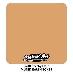 Genuine Eternal Tattoo Ink - Peachy Flesh - Expired But Brand New 2oz (60ml)