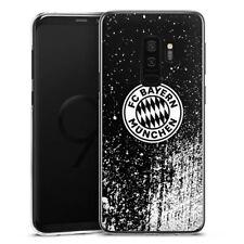 Samsung Galaxy S9 Plus Handyhülle Case Hülle Splatter Schwarz FC Bayern München
