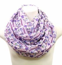 Handmade science scarf chemistry gift biology present for engineer teacher geek