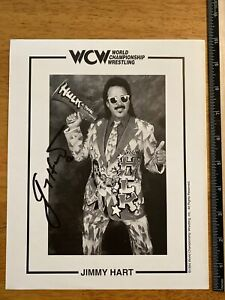 """Pro Wrestling Jimmy Hart """"Mouth Of The South"""" Autographed 8x10 Photograph Signed"""