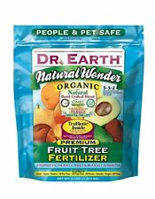 NEW Dr. Earth Natural Wonder Fruit Tree Fertilizer 4 lb FREE SHIPPING