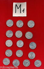 lotto 10 lire 17 monete 4 annate Italy coins 3 x 1955 5 x 1979 8 x 1981 1 x 1982