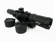 New Tactical Sinper Choose Scope 2-7x32 RGB Illuminated Lock Reset Scope