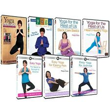 Peggy Cappy TV Series Yoga for the Rest of Us ~ Complete 7-DISC DVD SUPER SET