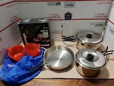 Texsport Stainless Steel 2-Person Cook Set Item #13432 Used
