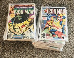 Marvel Iron Man Comic Book Lot / Collection #137-225 Vol 1-NO RESERVE!!