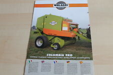 140749) Wolagri Columbia Pro Rundballenpresse Prospekt 200?