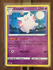 Pokemon Card    CLEFABLE   Holo Rare   75/192  REBEL CLASH  *MINT*  075