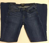 Lucky Brand Womens Jeans Sofia Boot Mid Rise Medium Wash Blue Size 6/28 Regular