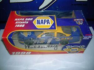 1998 NASCAR ATLANTA NAPA 500 FORD TAURUS SHIRLEY MULDOWNEY SIGNED NHRA TOP FUEL