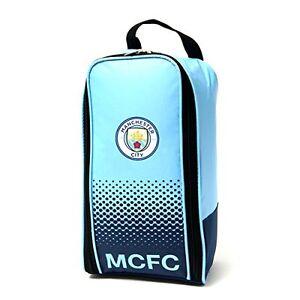 Manchester City FC Boot Bag - Latest Man City Fade Print Shoe Bag