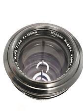 Nikon Nikkor-Q Auto 135mm F2.8 Non-Ai Telephoto Lens