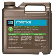 StoneTech High Gloss Finishing Sealer for Natural Stone Tile & Grout 1-Gallon