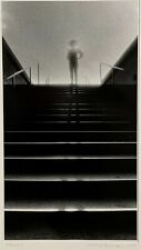 """GELATIN SILVER PHOTOGRAPH PRINT """"Stairs II"""" signed SOMOGYI"""
