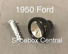 1950 Ford Passenger Car Window Crank Black Plastic Knob New