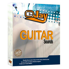 🥇 eJay Guitar Sounds, 4260 WAV Samples, acoustic, electric, loop, audio, DAW