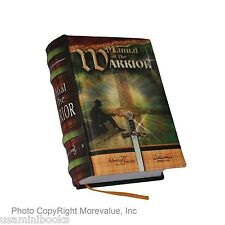 new miniature book Manual of the Warrior 1500 messages hard bound readable