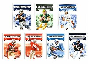2015 Panini Score, All-Time Franchise, Football Cards !!