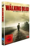 The Walking Dead Die komplette zweite Staffel 3 Blu-ray Disc Box Set Edition Neu