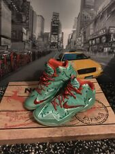 Nike LeBron XI Rare Basketball Shoes uk10 Trainers Gym NBA Fitness Kobe