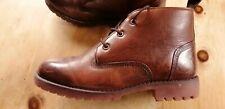 Mens Leather Samuel Windsor Chukka Boots Chestnut Brown Size 8.5