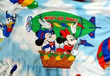 Vintage Mickey Air Mobile Twin Bed Flat Sheet Disney Mickey Mouse Pacific US