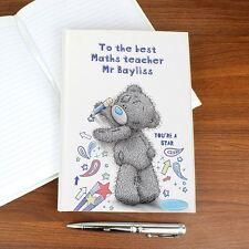 Me to You Personalised Teacher Gift Hardback Notebook - Tatty Teddy Bear