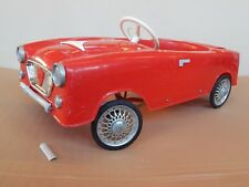 AUTO A PEDALI PINES MADE IN ITALY TIPO FIAT 1200 SPYDER OPPURE GIORDANI ETC