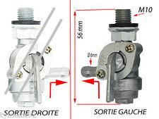 ROBINET ESSENCE  SORTIE a GAUCHE reservoir piece groupe electrogene  m10 125