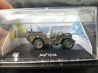 Cararama Hongwell Jeep CJ 2A USA Army 1 72 Scale Boxed