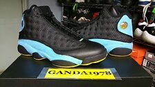 Men's ovo AIR JORDAN 13 RETRO CP PE BLACK/ORION BLUE premium MENS SZ 12