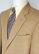 ALEXANDRE LONDON Men's Beige Sport Coat Pure New Wool Blazer Size 42R  EUR 52