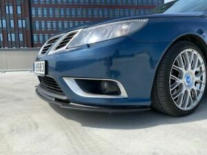 Front Bumper Lower Lip Spoiler Aero Look Valance Splitter Diffuser For Saab 9-3