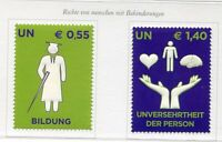 19499) UNITED NATIONS (Vienna) 2008 MNH** Rights for disabled