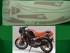 Yamaha Rd 350 n 1JF Ypvs 1985 Motorrad Schwarz Aufkleber