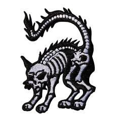 Kreepsville 666 X RAY CAT MINI PATCH WHITE