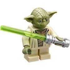 Lego *New Star Wars Yoda mini figure With Lightsaber #75168