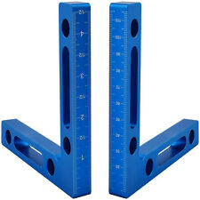 2pcs 90 Degree Positioning Squares Right Angle Clamps Woodworking Carpenter Tool