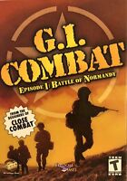 G.I. Combat Episode I Battle of Normandy Pc New Boxed XP WWII Real Time Strategy
