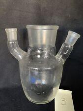 Sulfierkolben Vierhalskolben 750 ml NS60 NS14 NS19 Glaskolben Labor Chemie