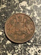 1853 India 1/2 Pice Lot#Q1296