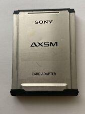 Sony AXSM Memory Card Adapter