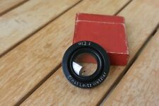 Vintage Leica Ernst Leitz Wetzlar f.Elm Brass Filter / Close Up Lens