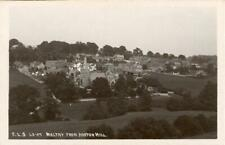 More details for real photo postcard of maltby from hooton hill, west yorkshire by scrivens
