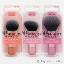 "3 REAL TECHNIQUES Mini Brush 3 pcs Set ""RT- 1700, 1701, 1704"" Joy's cosmetics"