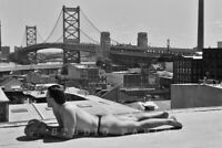 PHILLY #2 SELF-PORTRAIT—Sexy Male Thong Model Fine Art Men's Photo Print—PABLO