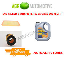 DIESEL OIL AIR FILTER KIT + LL 5W30 OIL FOR SAAB 9-3 SPORT 1.9 150 BHP 2004-12